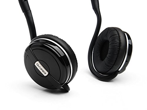 Kinivo BTH240 Bluetooth Stereo Headphone - Supports Wireless Music Streaming and Hands-Free Calling