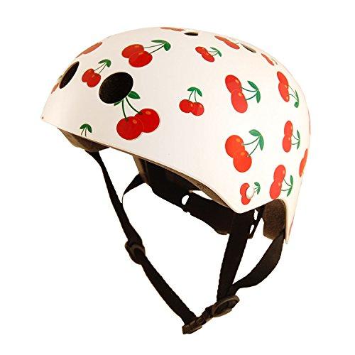Kiddimoto Helmet Medium Cherry, Head protection with style
