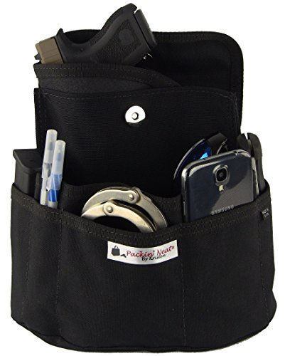 Purse Holster for Concealed Carry | Fits Smith and Wesson Bodyguard Ruger LCP and Similar Sized CCW Guns (Purse Insert Holster compare prices)