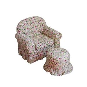 Kinfine Usa Kids Chair And Ottoman Set from Kinfine USA Inc.