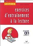CE1 - fichier - exercices d'entrainement a la lecture