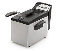 Presto 05462 Digital ProFry Immersion-Element 9-Cup Deep Fryer