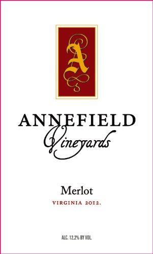 2012 Annefield Vineyards Merlot 750 Ml