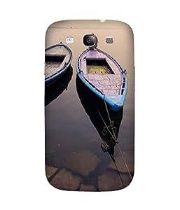 Man On Boat Samsung Galaxy S3 Case