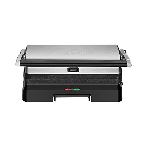 Cuisinart - Griddler Grill and Panini Press - Brushed Stainl