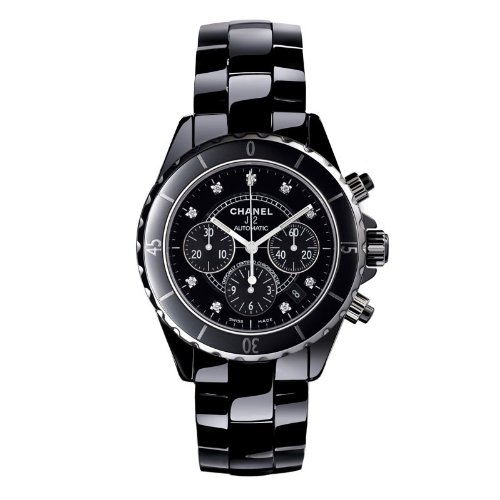 NEW CHANEL H2419 J12 CERAMIC MENS CHRONOGRAPH WATCH