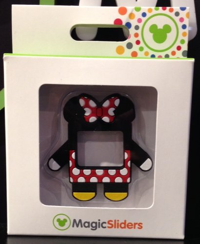 Disney Parks Minnie Mouse Magic Band Slider Charms NEW