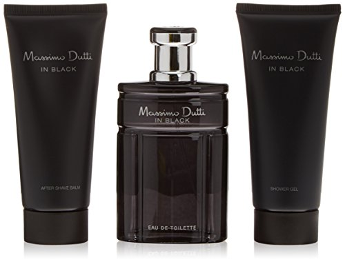 Massimo Dutti in Black edt 100 ml + After 100 ml + Gel 100 ml