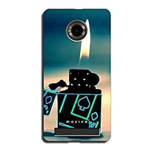 Mozine Ace Light Up printed mobile back cover for YU Yuphoria
