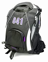 841 Scooter Backpack Black-Purple
