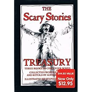 The Scary Stories Treasury: Three Books to Chill Your Bones (Collected from Folklore)
