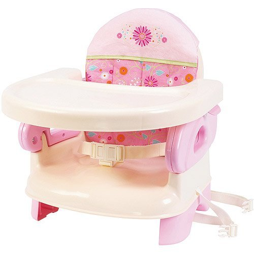 Summer Infant - Deluxe Folding Booster Seat, Pink (Summer Folding Booster Seat compare prices)