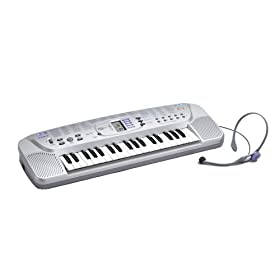 Casio SA75 Keyboard with Headset Microphone