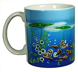 Frog Lifecycle 11 Oz. Ceramic Coffee Mug or Tea Cup