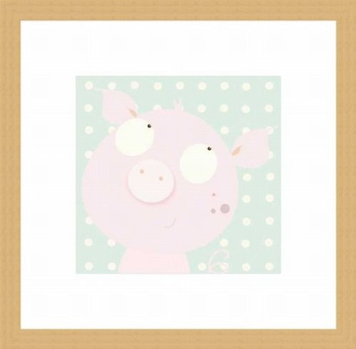 Barewalls Wall Decor by Nicola Evans, Pinky Piggy