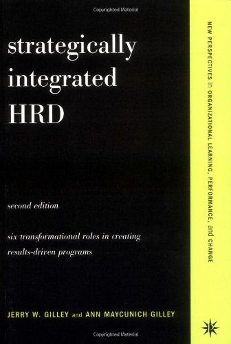 Strategically Integrated HRD: A Six- Step Approach To...