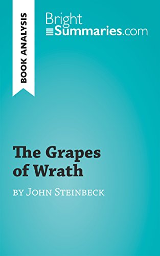 an analysis of grapes of wrath in california The novel the grapes of wrath by john steinbeck is based on the hardships one family in they head towards california  the grapes of wrath analysis.