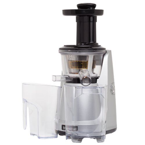 Best Slow Juicer Easy Clean : Tribest Fruitstar (FS-610-B) vertical Slow Masticating Juicer - Import It All