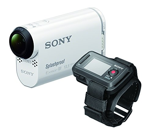 Sony Sony HDR-AS100VR POV Action Video Camera With Live View Remote (White)