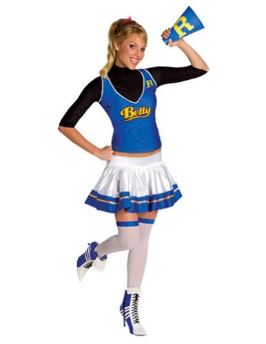 Betty Archie Comics Lg Halloween Costume - Adult Large