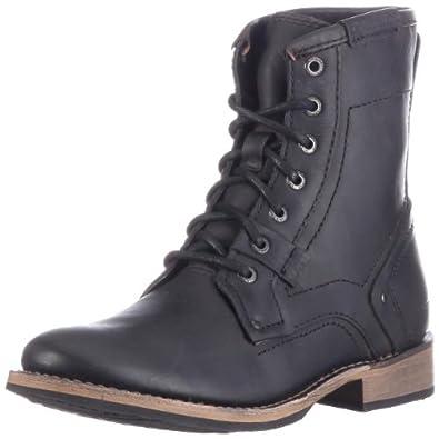 "Amazon.com: Caterpillar Abe 6"" Black Mens Boots US Size 13 (EU 46"