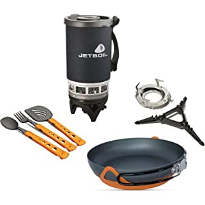 Jetboil Backcountry Gourmet Cooking System Set by Jetboil