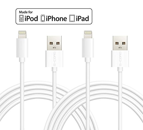 Click to buy Certified G-Cord® 2 Pack 10FT Lightning to USB Charger Data Sync Cable for iPhone 6s Plus / 6 Plus / SE, iPad Pro Air 2 and More (White) - From only $29.99