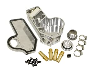 EMPI 17-2941 EMPI OIL FILLER & BREATHER BOX, VW Bug, Baja, Volkswagen, Sand Rail, Sand Buggy