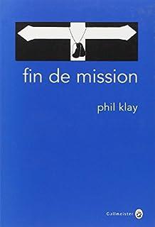 Fin de mission : nouvelles