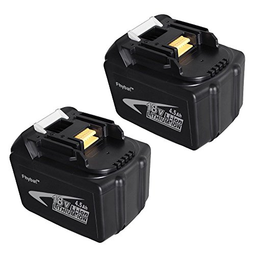 2 pack 18v 4 5ah lithium ion cordless replacement makita battery bl1845 194205 3 lxt400. Black Bedroom Furniture Sets. Home Design Ideas