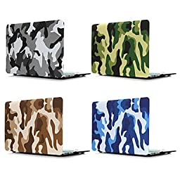 ENKAY Camouflage Style Protective Full Body Hard Case for 13.3\