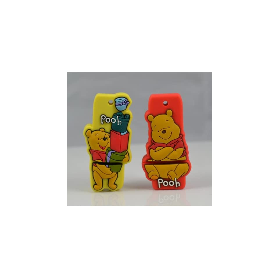 Cute Winnnie Shape 8gb Usb Flash Drive