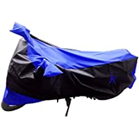 Premium Blue And Black Bike Body Cover For Hero Impulse