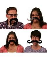 Moustaches - 4 pieces