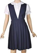 French Toast Little Girls39 School Uniforms V-Neck Pleated Jumper Navy