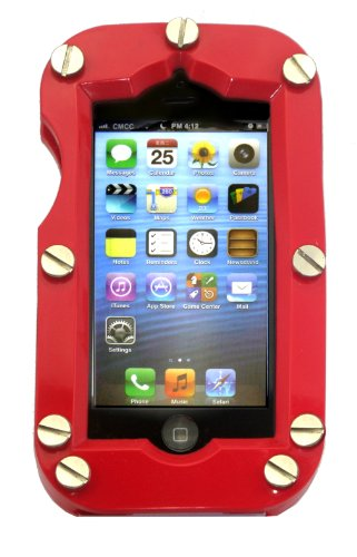 Great Price Shockcase Red Industrial iPhone 5 Case