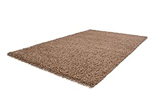 Soft Shaggy Beige Modern Thick Rug 8 Sizes Available from Lord of Rugs