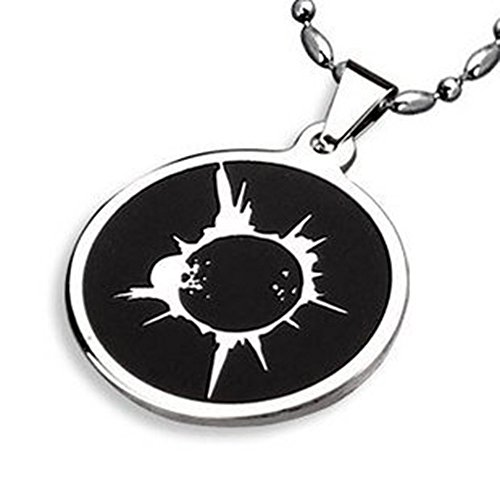Andonger Stainless Steel Heroes Godsend Eclipse Outbreak Simbolo pendente
