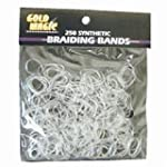 Gold Magic Clear Elastic Braiding Bands