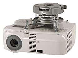 Peerless PRG-UNV-S Precision Gear Universal Projector Mount - Silver