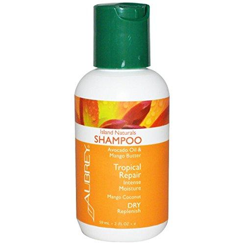 Island Naturals Shampoo Aubrey Organics 2 Oz Liquid
