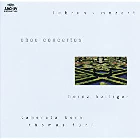 Lebrun / Mozart: Oboe concertos (2 CDs)