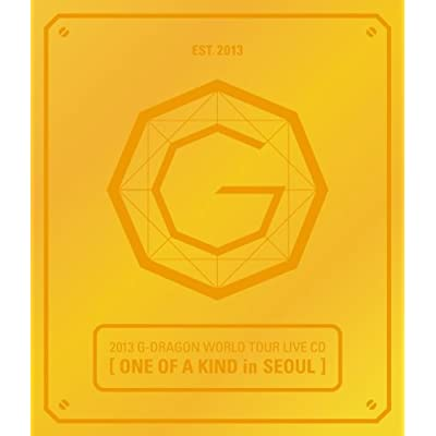 G-Dragon - 2013 G-Dragon ワールドツアーLive CD [One Of A Kind in ソウル] (ランダムカバー)(韓国盤)をAmazonでチェック!