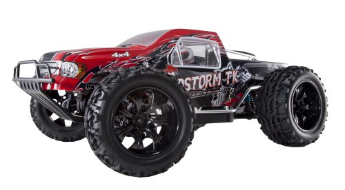 Redcat Racing Sandstorm Tk Electric Truck Brushless Car, Red, 1/10 Scale