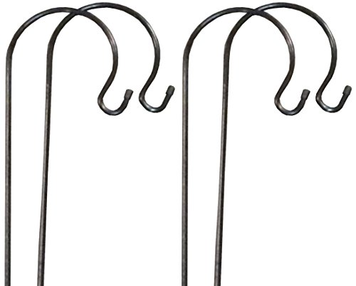4-x-Gardman-Shepherds-Crook-Hook-for-Bird-Feeders-Garden-Candle-Lanterns-1m