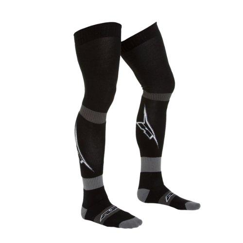 Black, Large AXO MX Long Socks with A Logo,