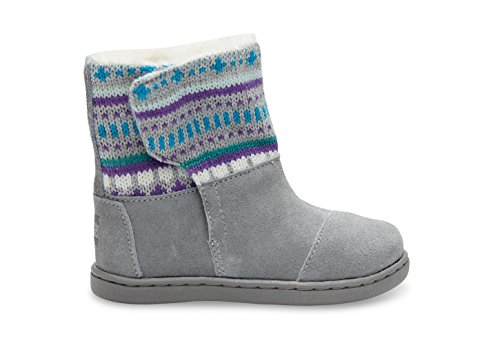 Toms Nepal Boots Grey Suede Fair Isle 10006415 Tiny 5 | $0 - Buy ...