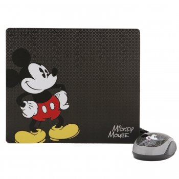 Disney Mickey Mouse And Mousepad Kit-2Pack