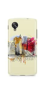 Casenation New York Splash LG Nexus 5 Glossy Case