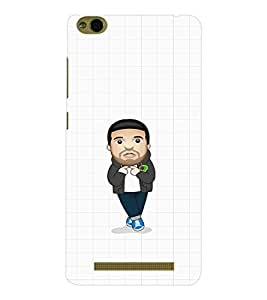 EPICCASE Cool Guy with Beard and tail Mobile Back Case Cover For Xiaomi 3S Prime (Designer Case)